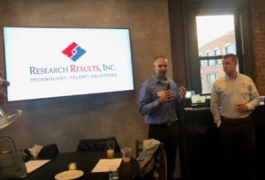 Bobby Richards and Stephen Oldfield Presenting at Insights NE End of Summer 2019 Party